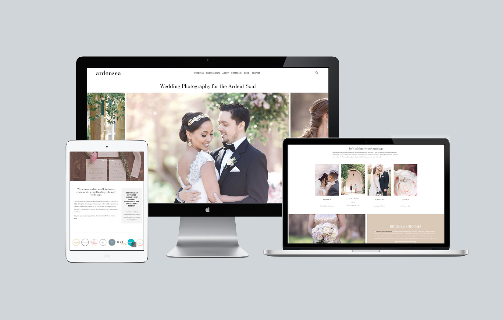 web design for photographers vero beach