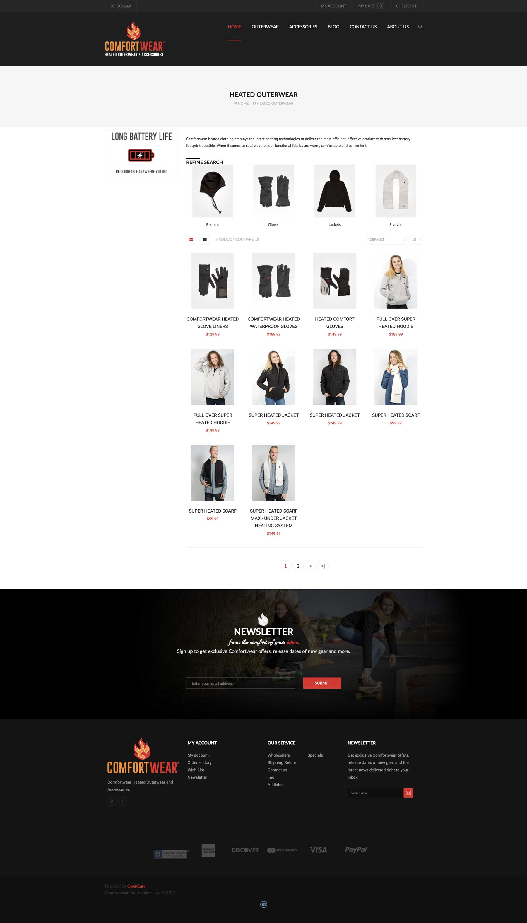 ecommerce fashion website design vero beach