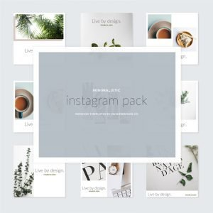 downloadable instagram template - modern
